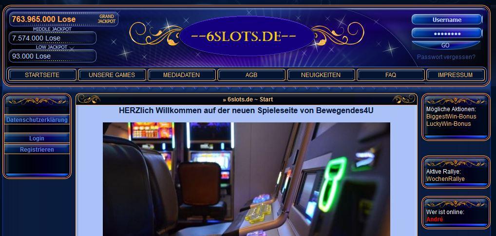 Loseseite II 6slots.de
